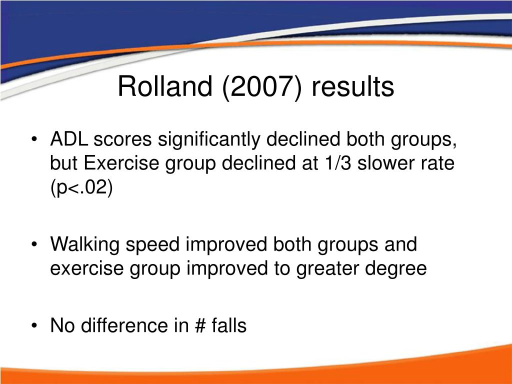 Rolland (2007) results