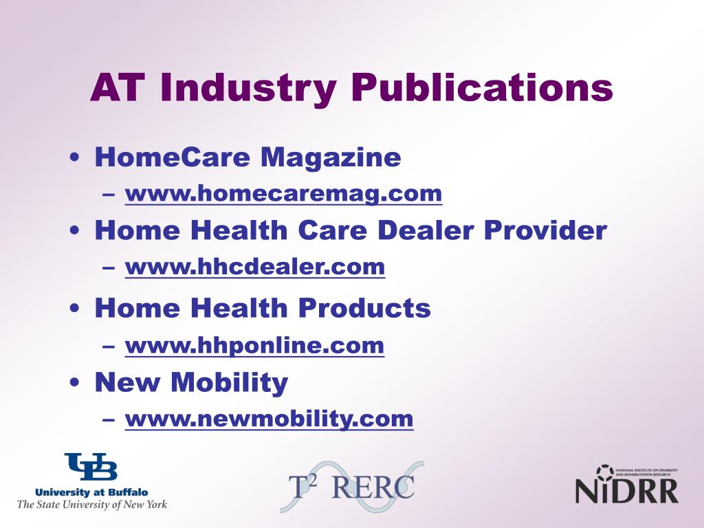 AT Industry Publications