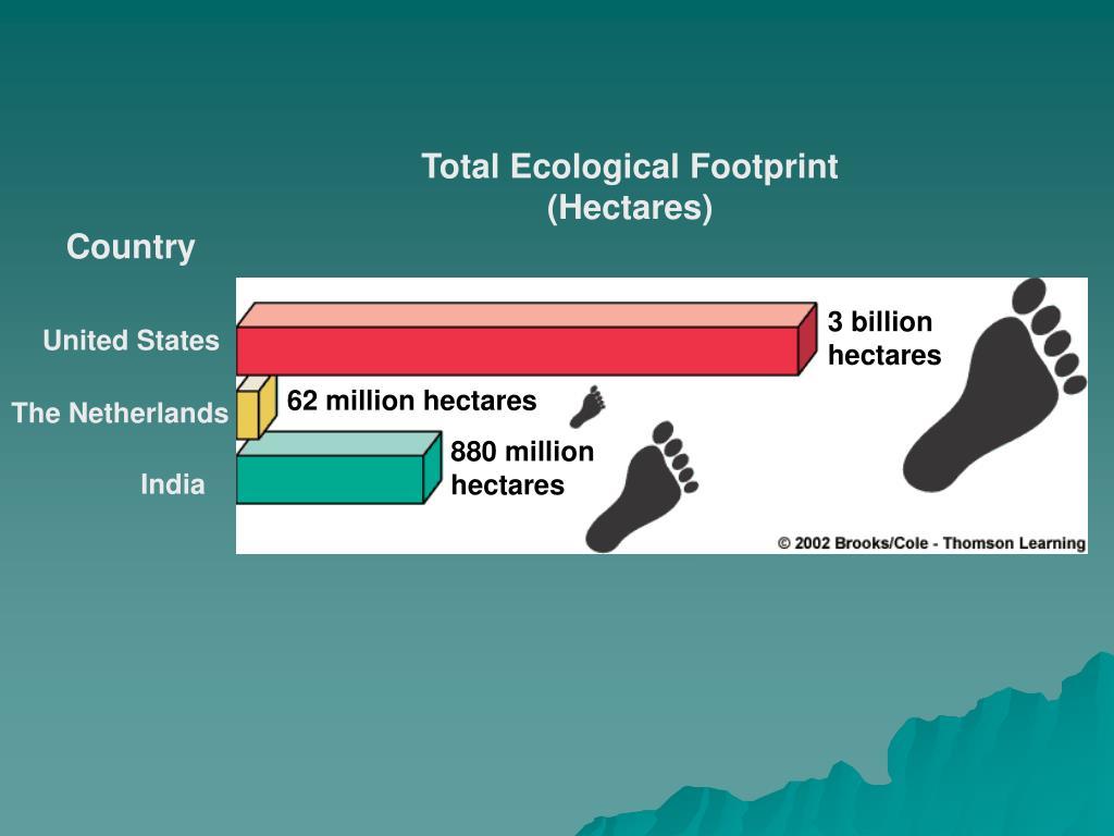 Total Ecological Footprint