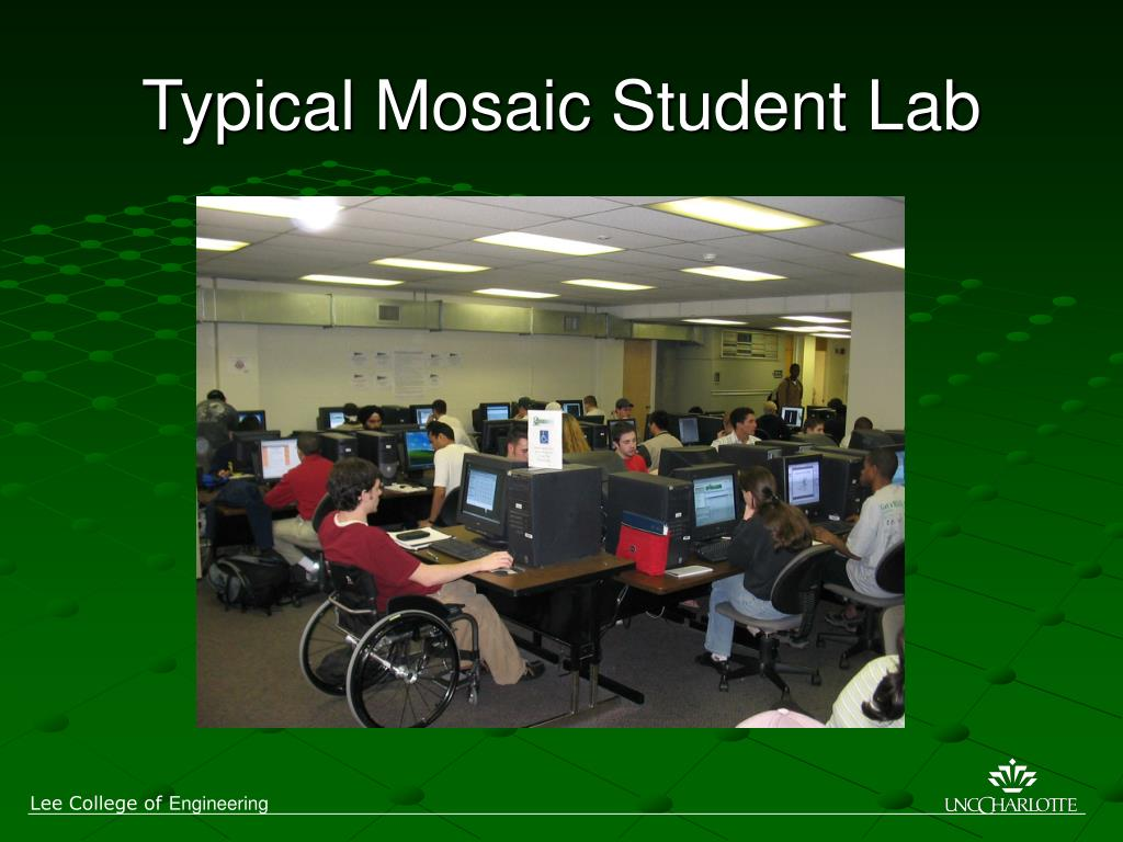 Typical Mosaic Student Lab