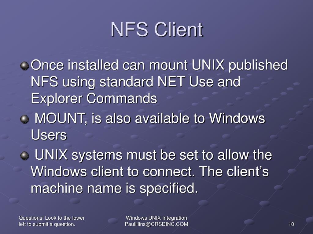 NFS Client