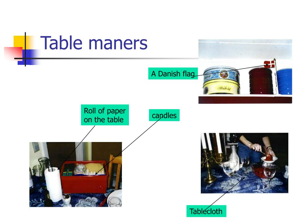 Table maners