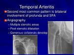 temporal arteritis6