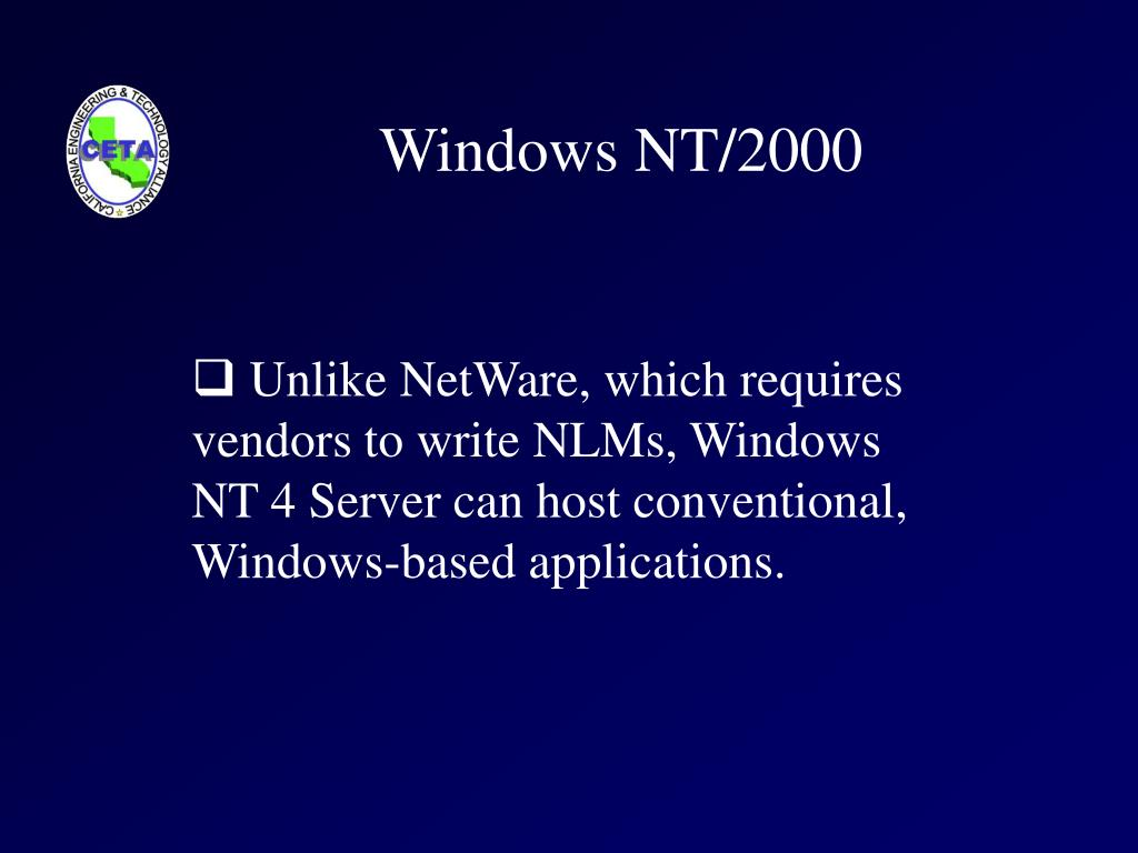 Windows NT/2000