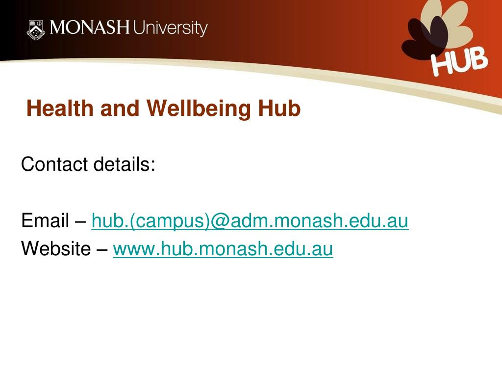 Health and Wellbeing Hub
