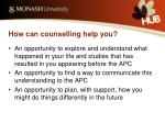 how can counselling help you