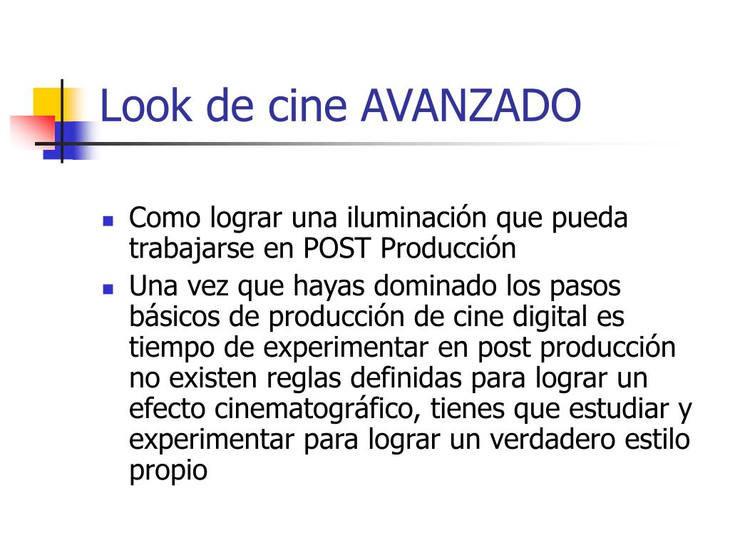 Look de cine AVANZADO