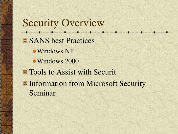 Security overview l.jpg