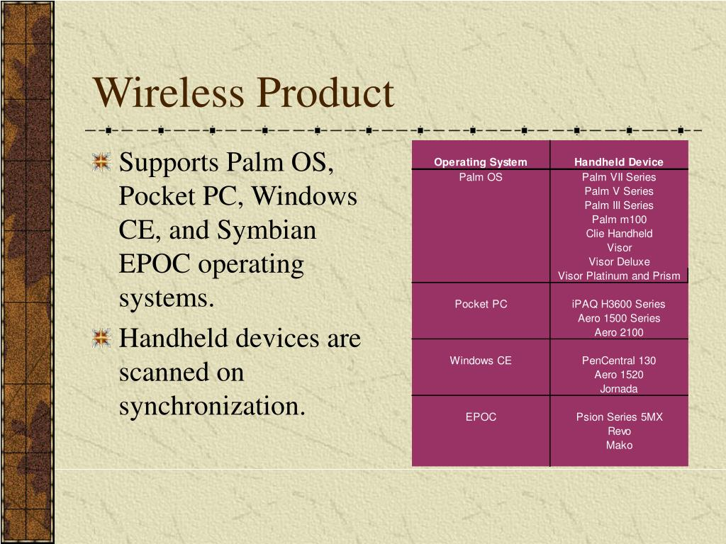 Wireless Product