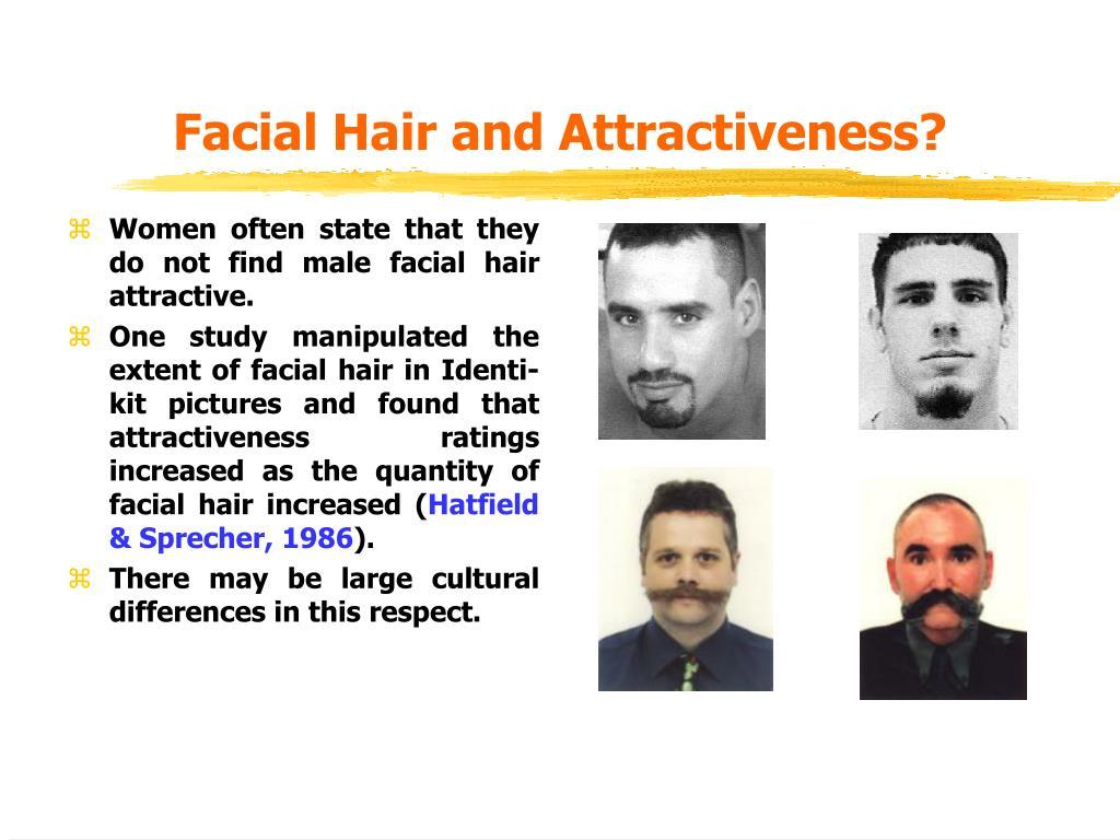 Facial Hair and Attractiveness?