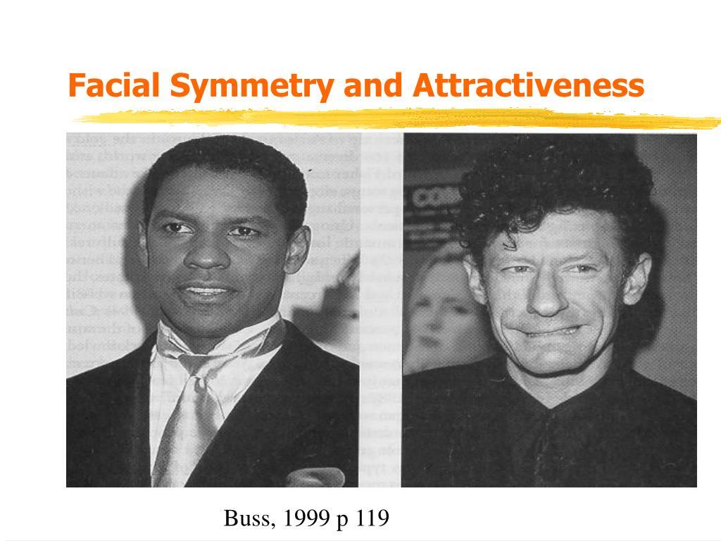 Facial Symmetry and Attractiveness