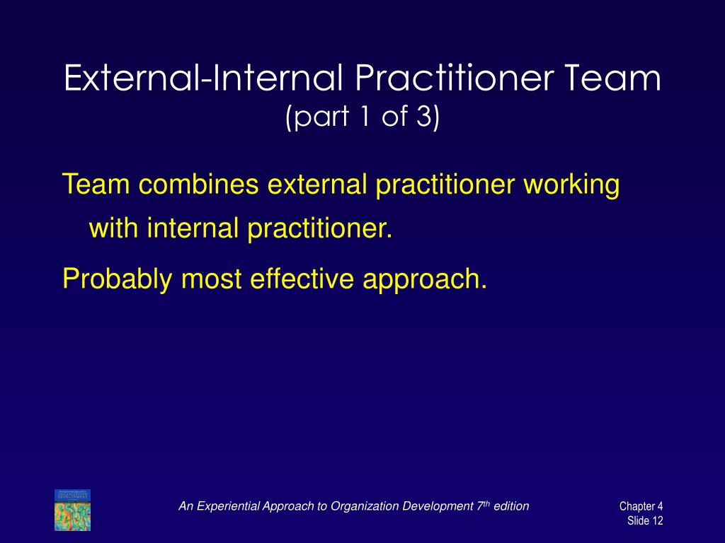 External-Internal Practitioner Team