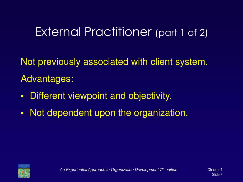 External Practitioner