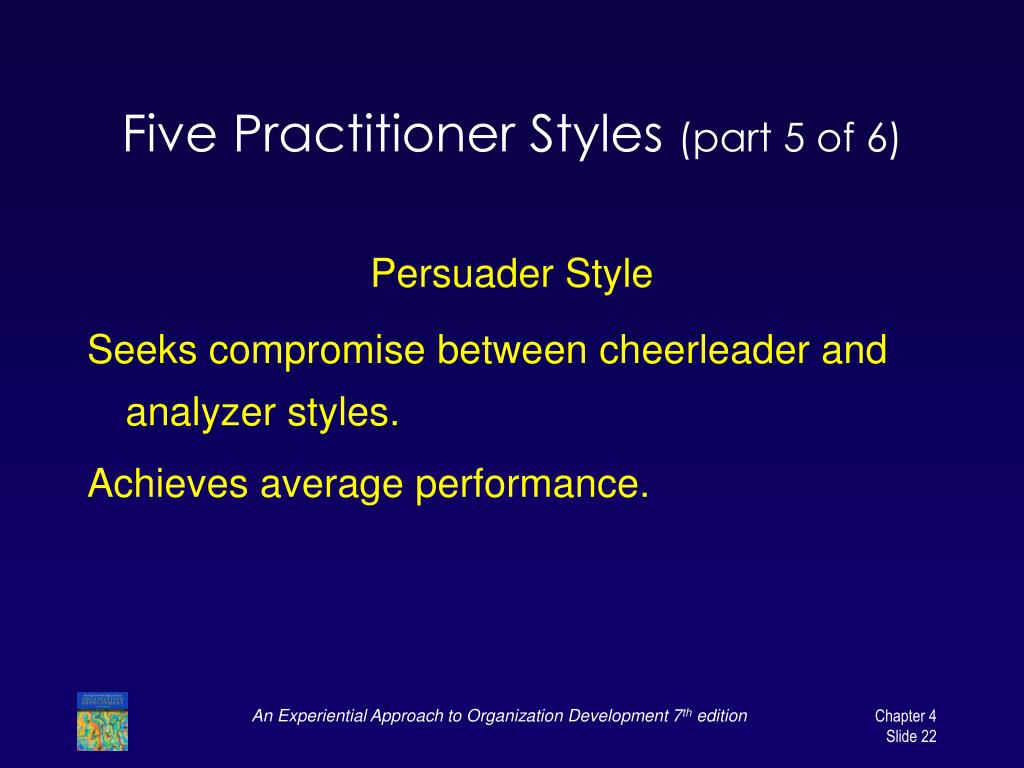 Five Practitioner Styles