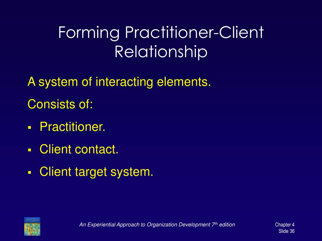 Forming Practitioner-Client Relationship