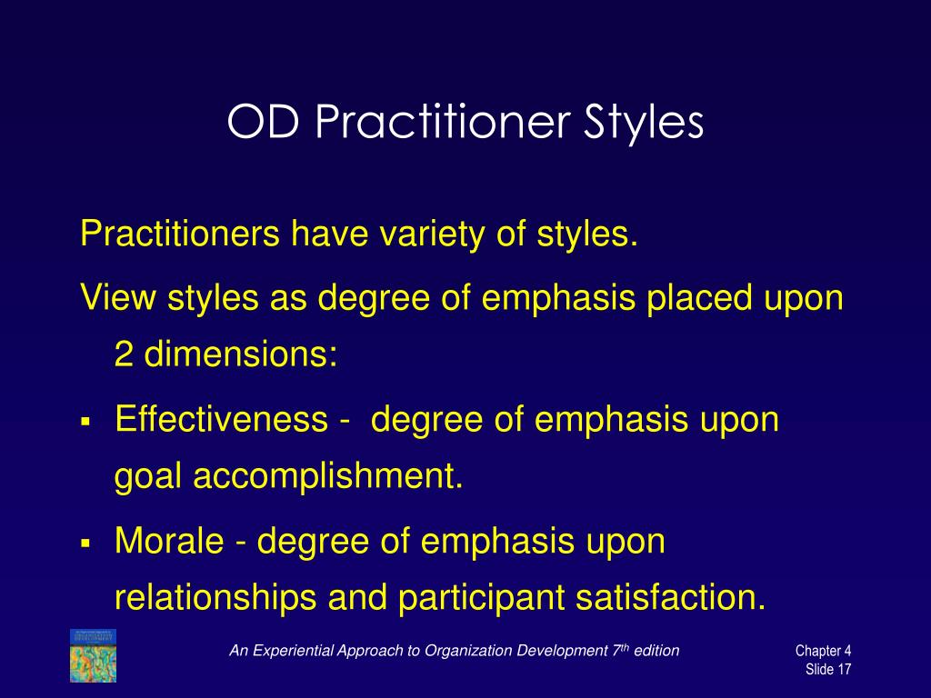 OD Practitioner Styles