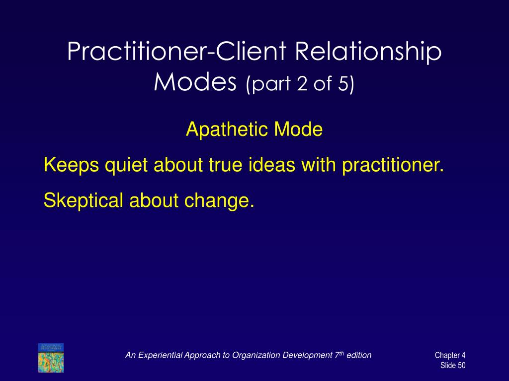 Practitioner-Client Relationship Modes