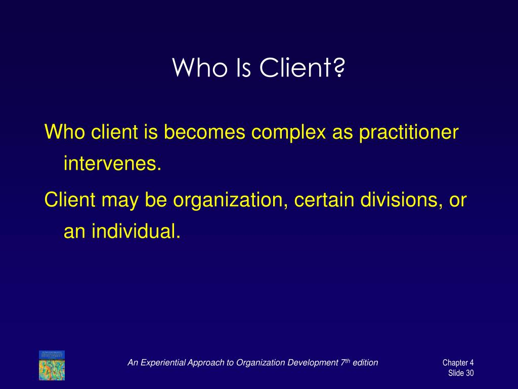 Who Is Client?