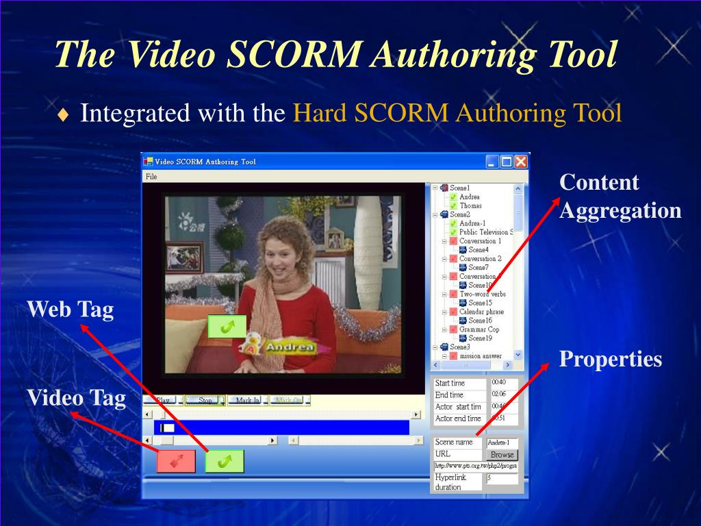 The Video SCORM Authoring Tool