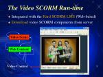 the video scorm run time