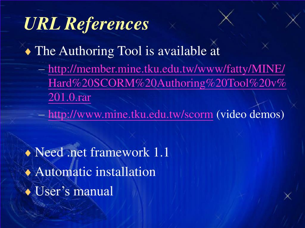 URL References