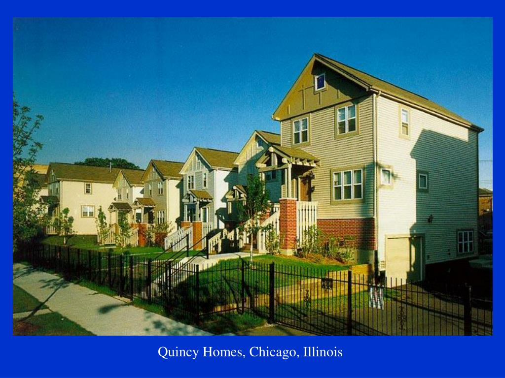 Quincy Homes, Chicago, Illinois