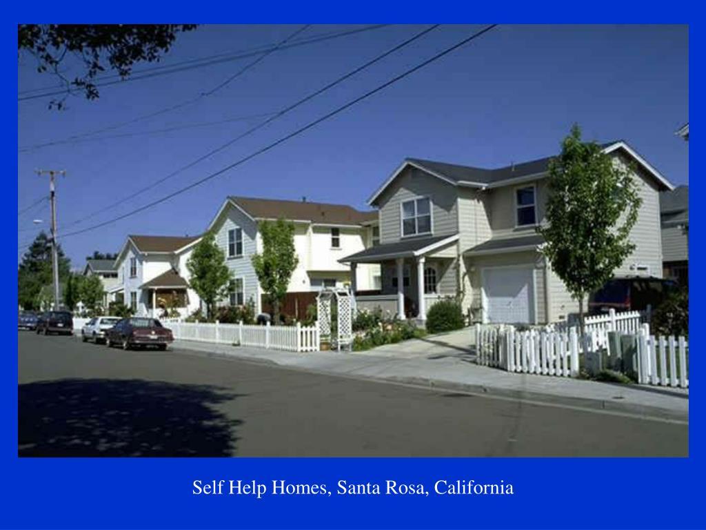 Self Help Homes, Santa Rosa, California