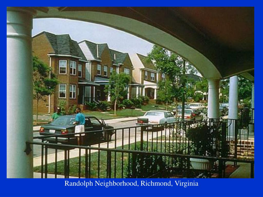 Randolph Neighborhood, Richmond, Virginia