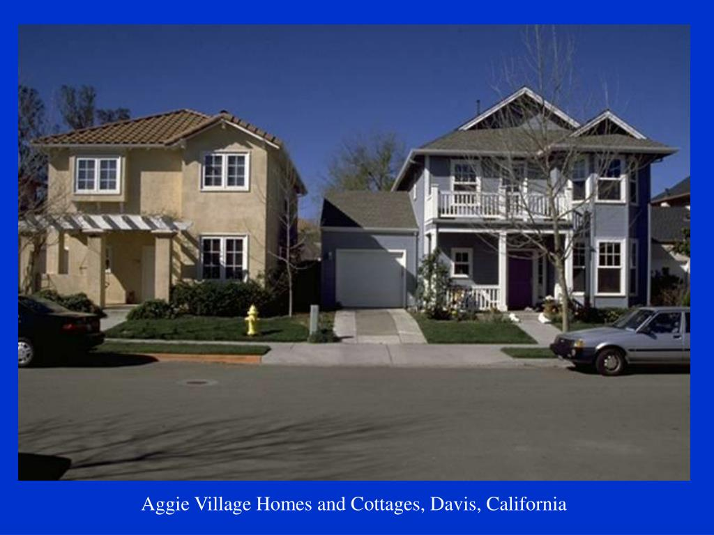Aggie Village Homes and Cottages, Davis, California