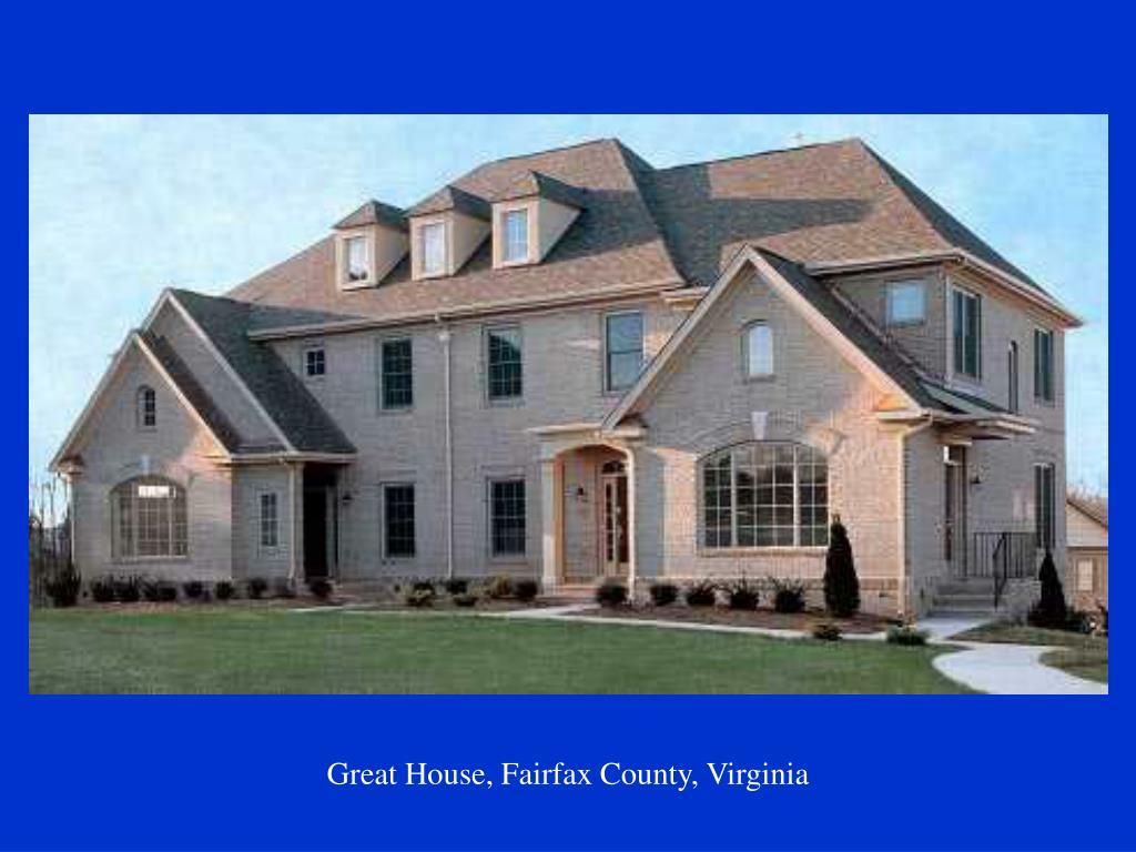 Great House, Fairfax County, Virginia
