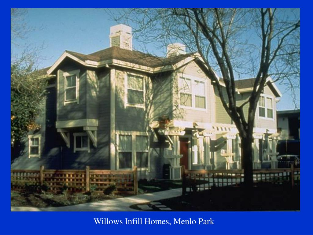 Willows Infill Homes, Menlo Park