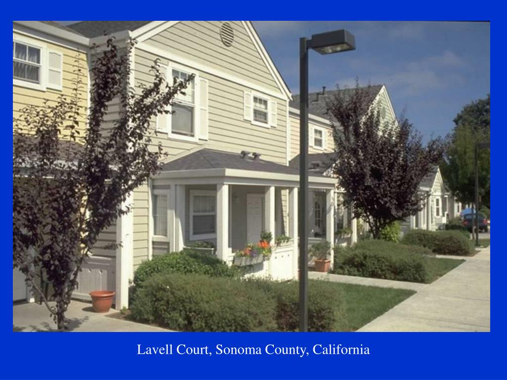 Lavell Court, Sonoma County, California