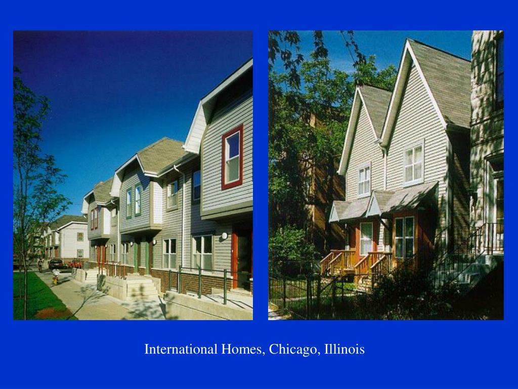 International Homes, Chicago, Illinois