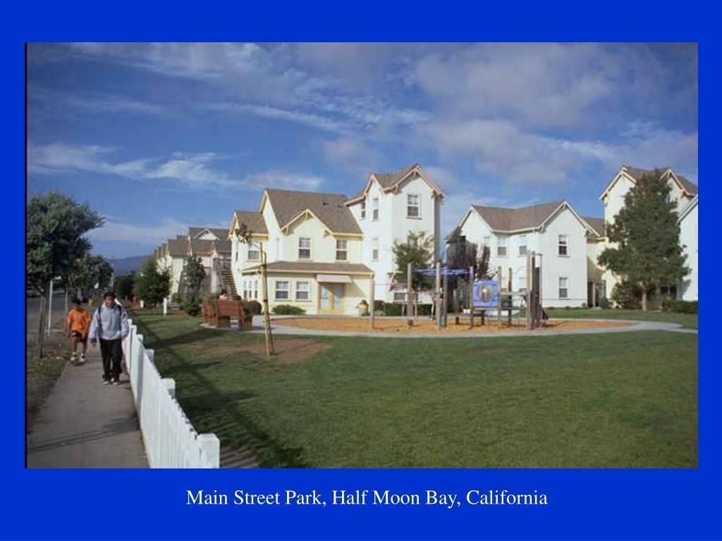 Main Street Park, Half Moon Bay, California