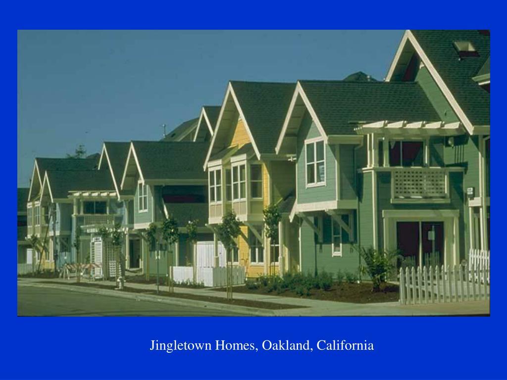 Jingletown Homes, Oakland, California
