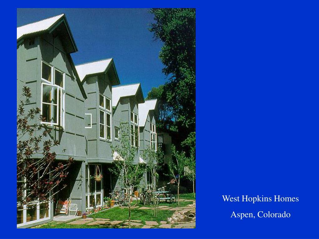West Hopkins Homes