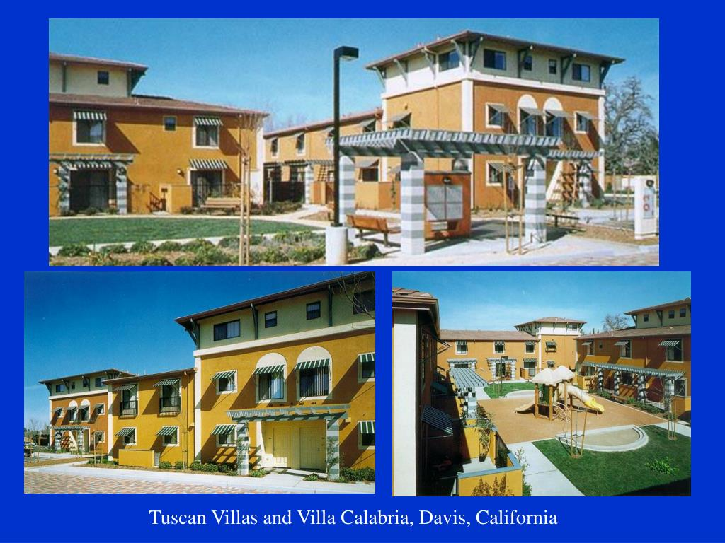 Tuscan Villas and Villa Calabria, Davis, California