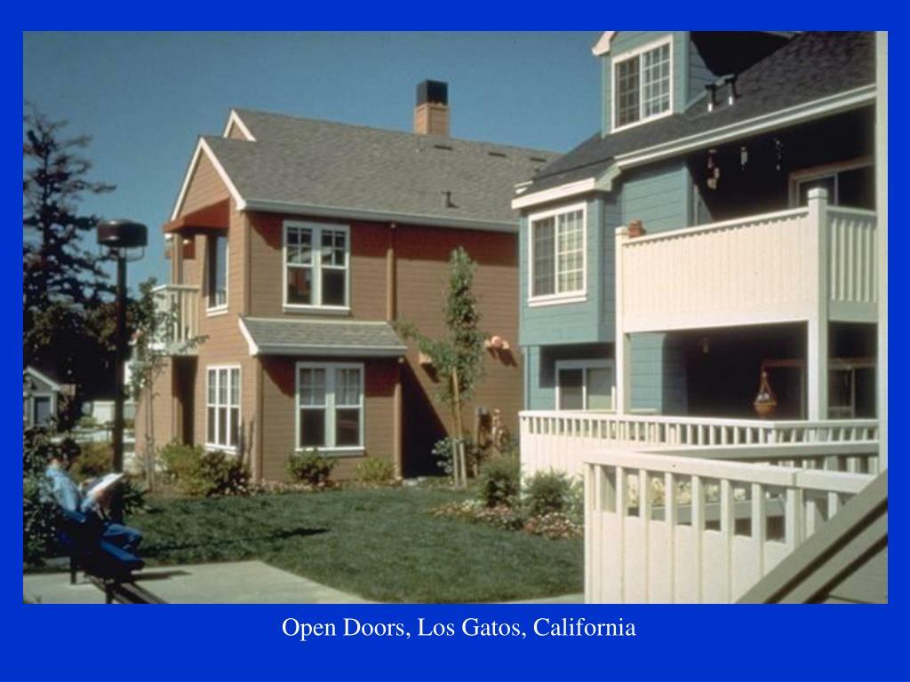 Open Doors, Los Gatos, California