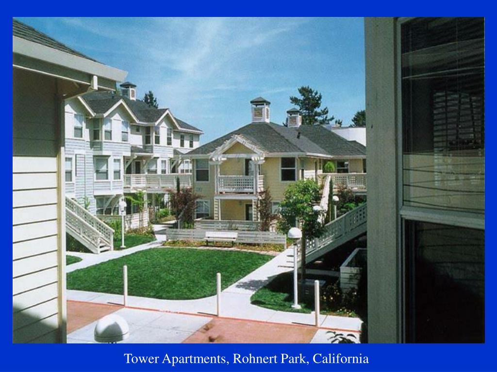 Tower Apartments, Rohnert Park, California