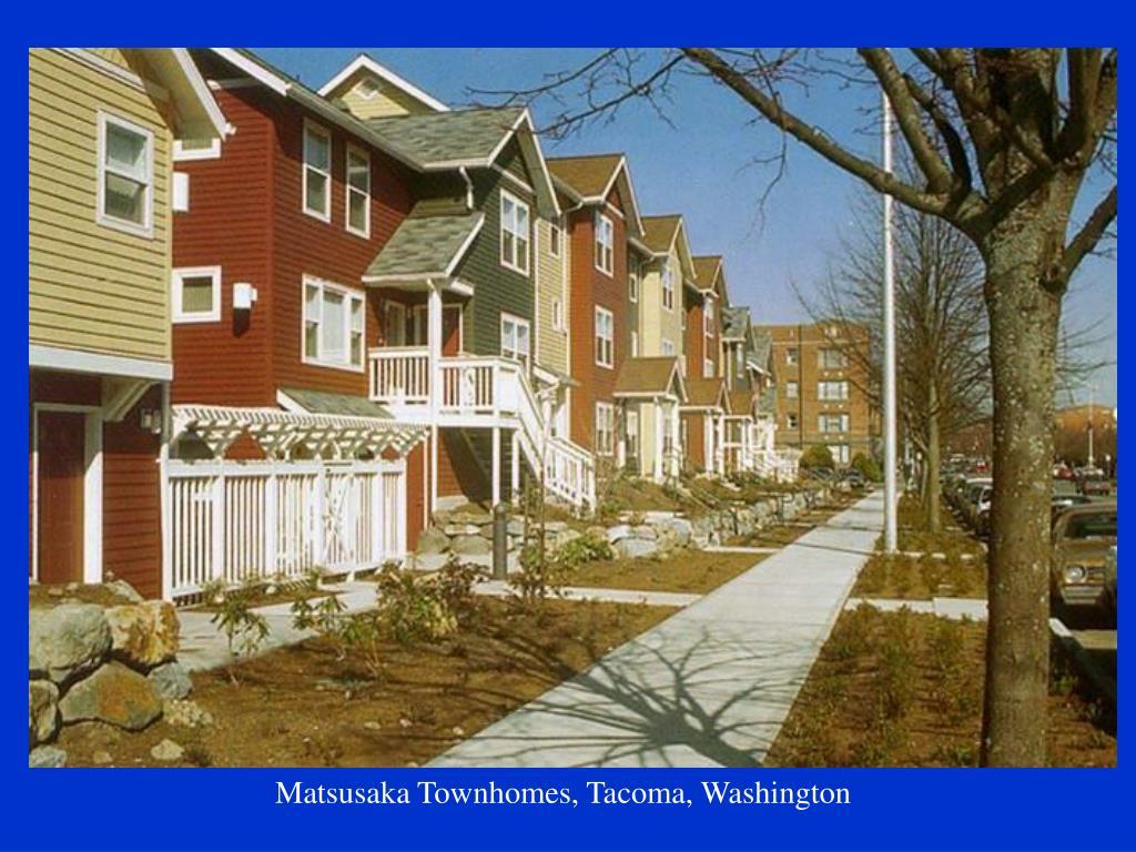 Matsusaka Townhomes, Tacoma, Washington
