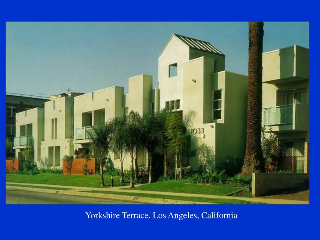 Yorkshire Terrace, Los Angeles, California