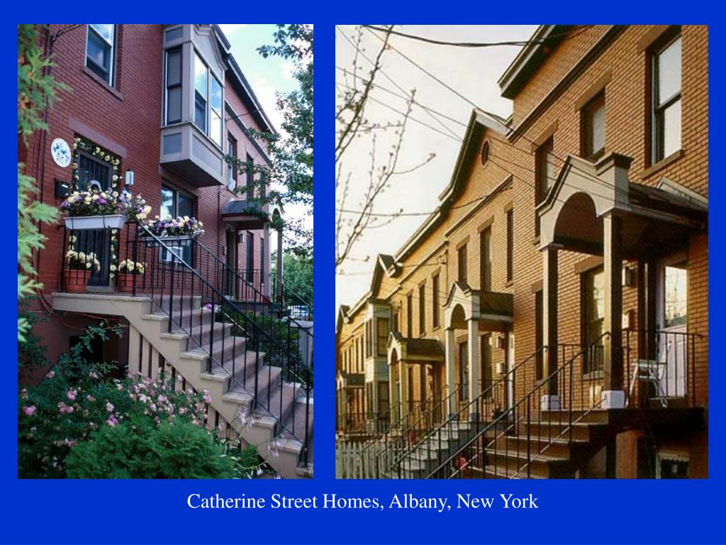 Catherine Street Homes, Albany, New York