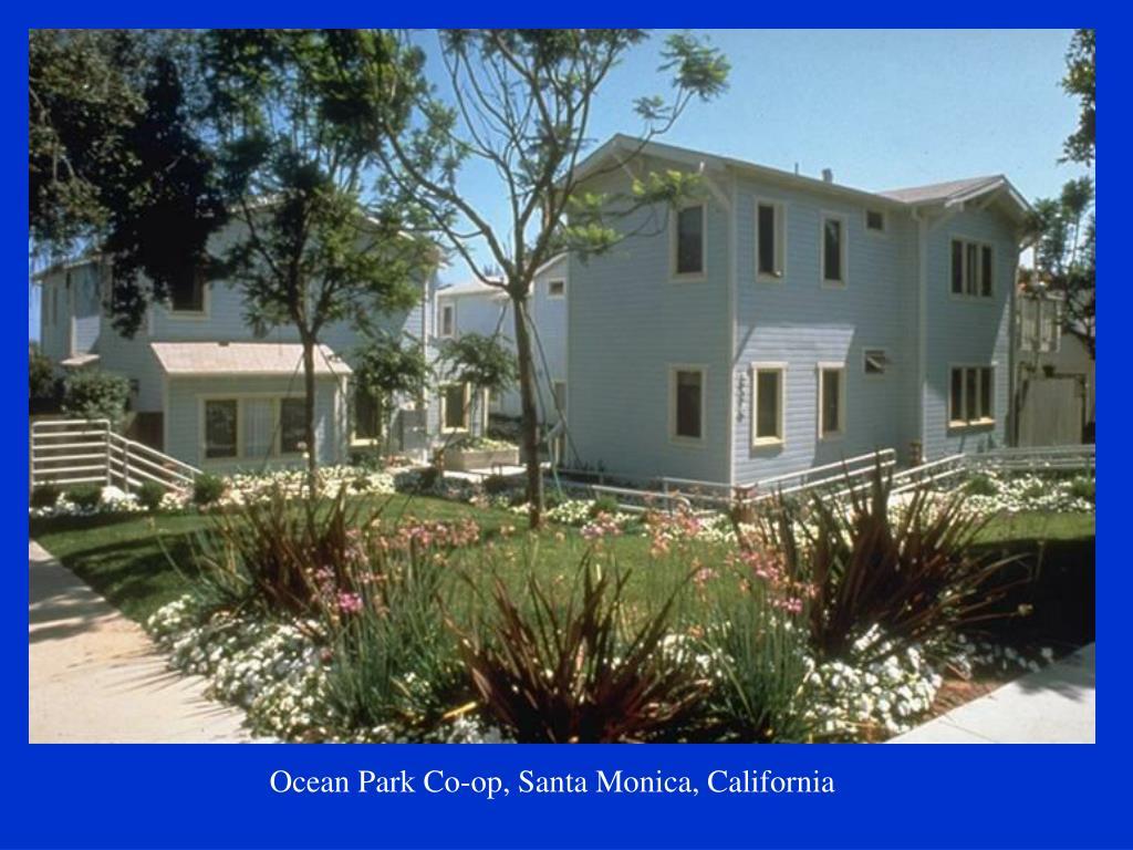 Ocean Park Co-op, Santa Monica, California