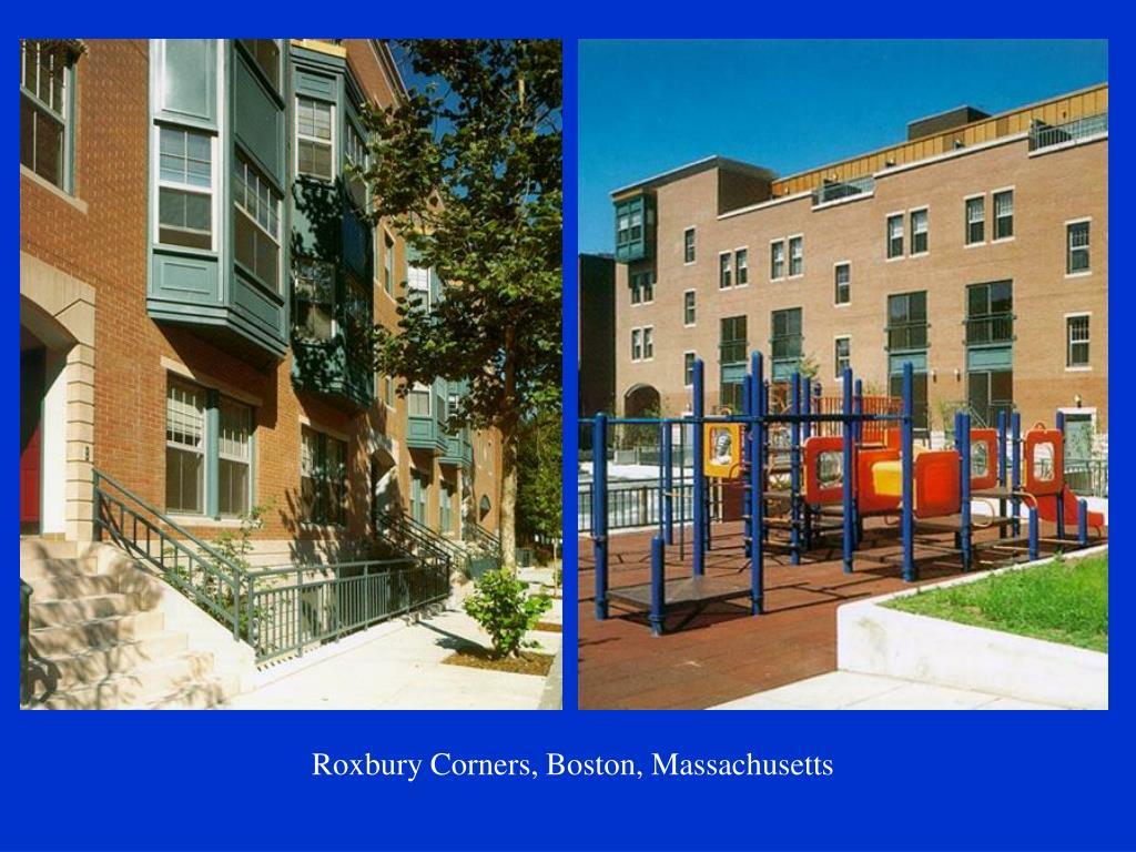 Roxbury Corners, Boston, Massachusetts