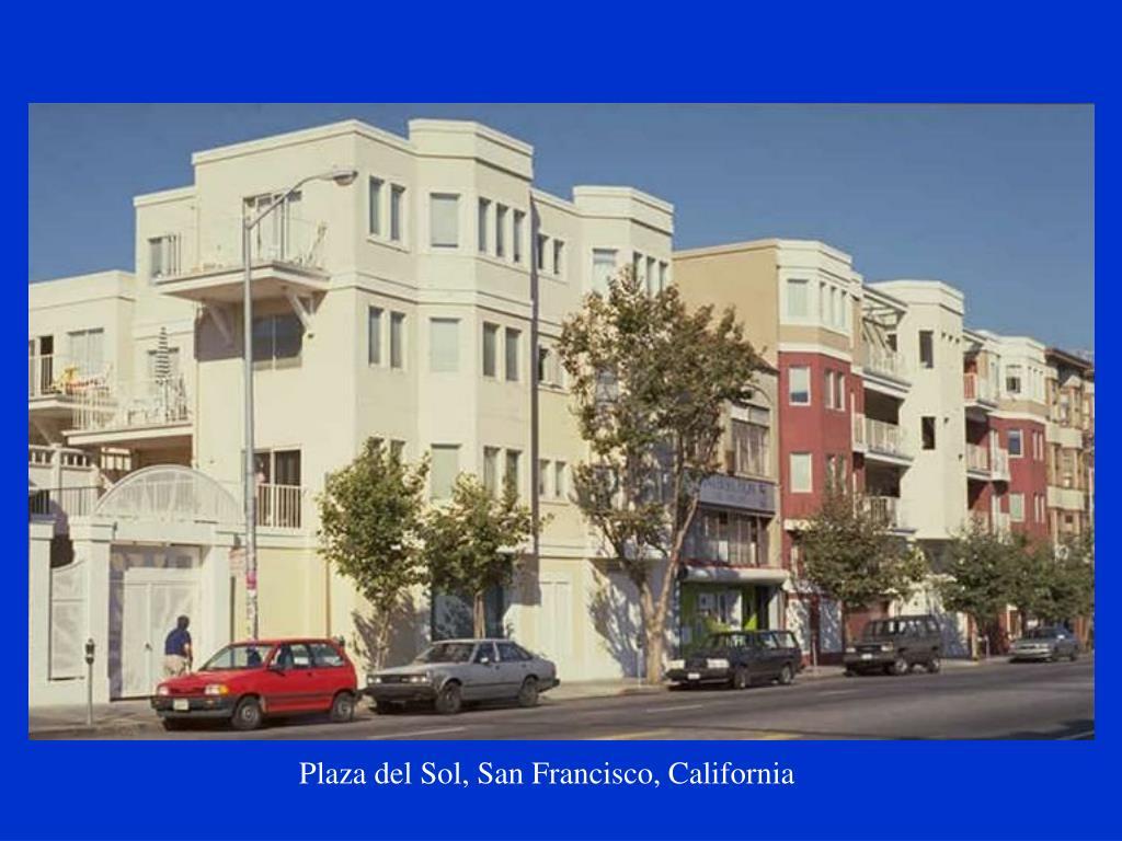 Plaza del Sol, San Francisco, California