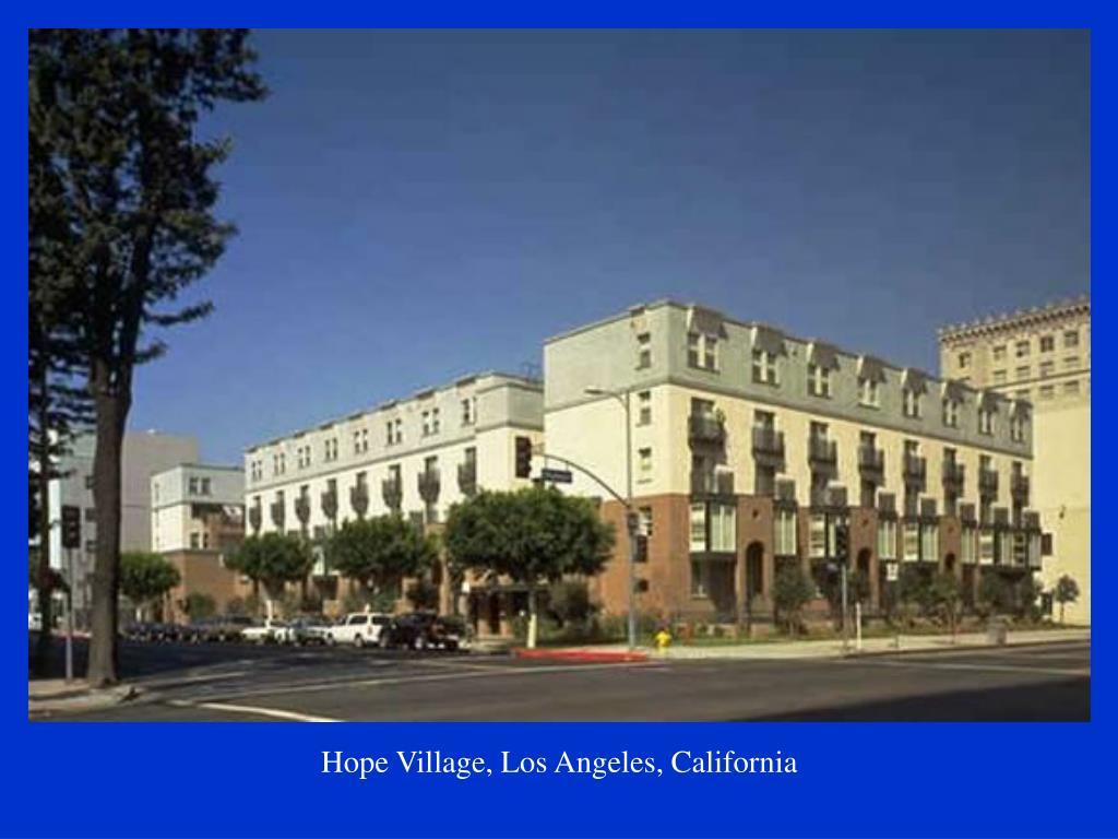 Hope Village, Los Angeles, California