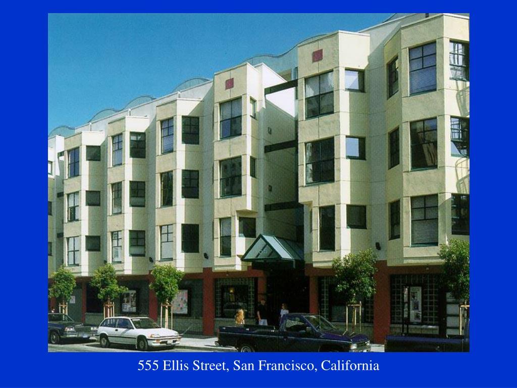 555 Ellis Street, San Francisco, California