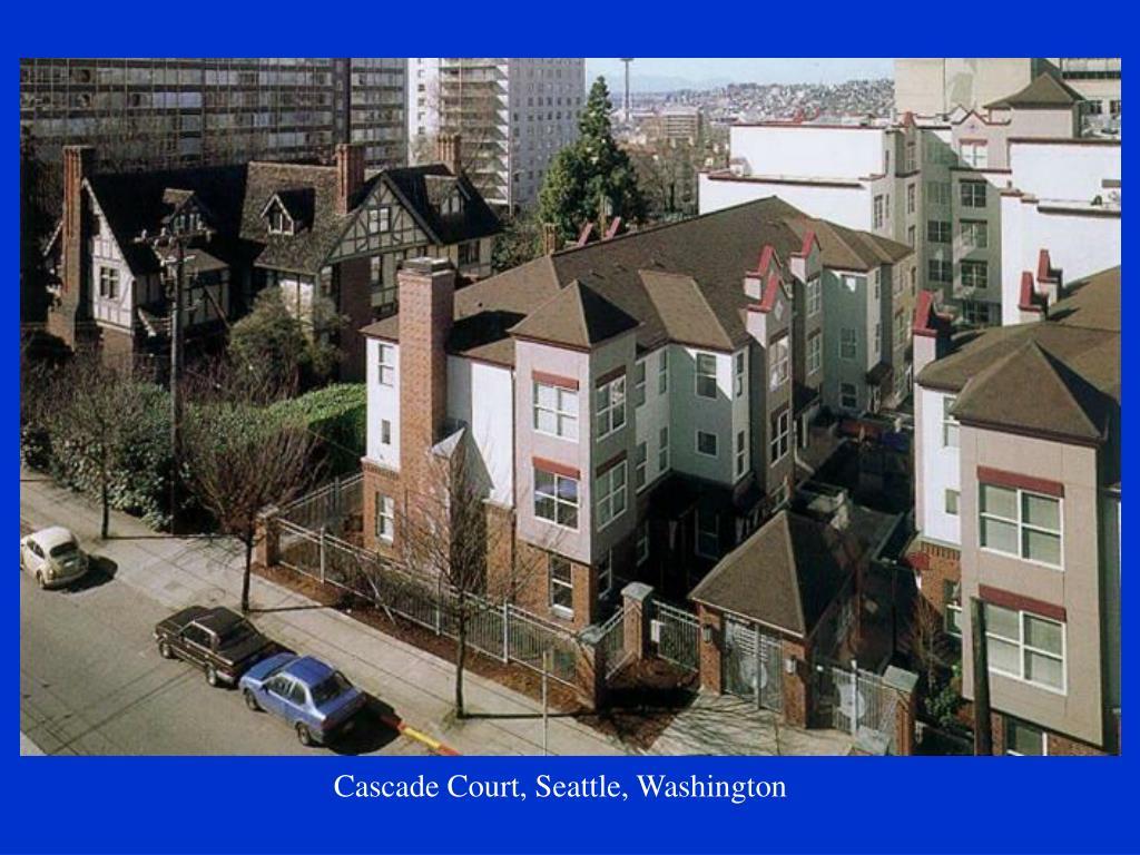 Cascade Court, Seattle, Washington