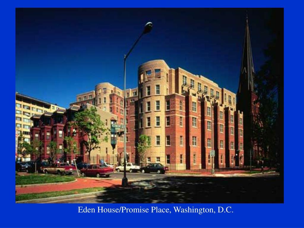 Eden House/Promise Place, Washington, D.C.
