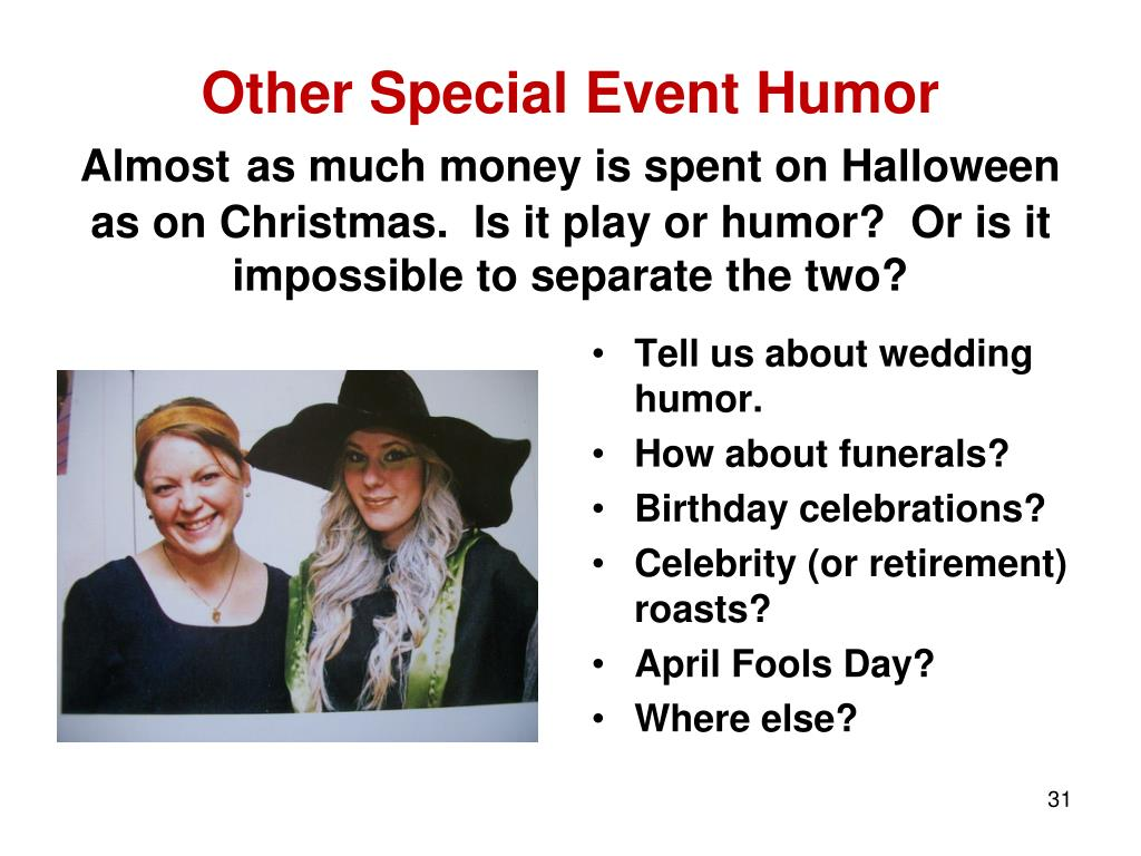 Other Special Event Humor